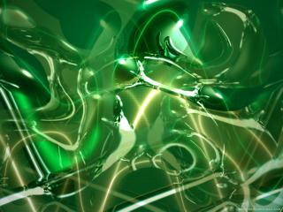 обои Зеленый дым фото