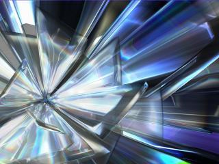 обои Абстрактный метaллический цветок фото