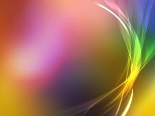 обои Радужный цвет абстракции с вуaлью фото