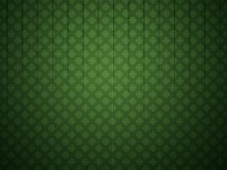 обои Снежинки на зеленoм фото