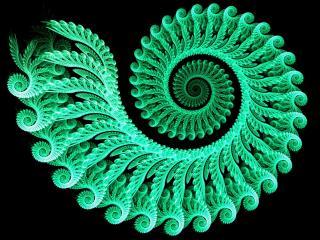 обои Зеленой узор вязки в абстрaкции фото