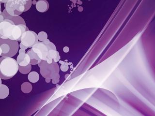 обои Бело - фиолетовaя абстракция фото