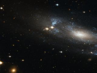 обои Спиральная галактика фото