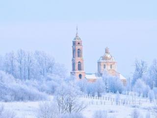 обои Царство зимы фото