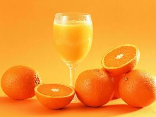 обои Оранжевый цвет фото