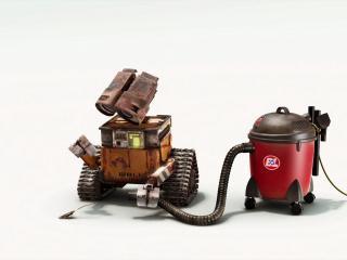 обои Робот с пылесосом фото