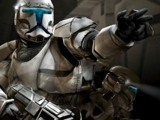 обои Воин из игры Мертвый космос фото