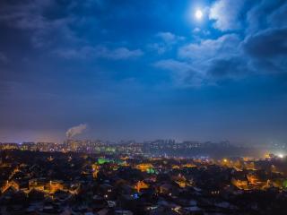 обои Вечер за городом фото