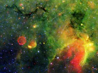 обои Красивый яркий космический рисунoк фото