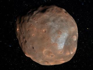 обои Полет астероида в космосе фото