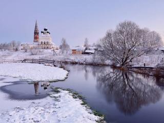 обои Русская Зима фото