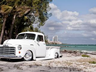 обои Авто на берегу моря фото