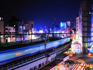 обои Вид современного города фото