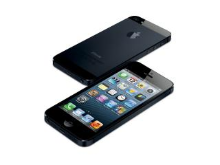 обои Apple iPhone 5 черный фото
