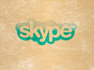 обои Skype надпись фото