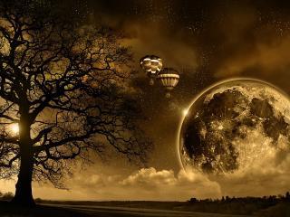 обои Магия Луны фото