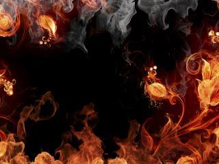 обои Царство огня фото