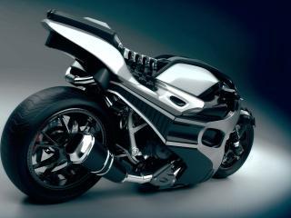 обои Фантастический дизайн мотоцыкла фото