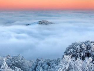 обои Зимние облака фото