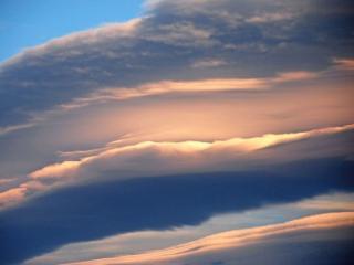 обои Фронтовые облака Новой Зеландии фото