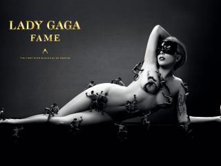 обои Леди Гага в рекламе Fame фото