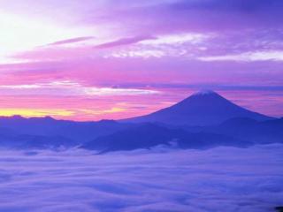 обои Небо над горами фото