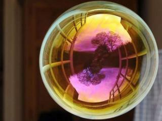 обои Природа в мыльном пузыре фото