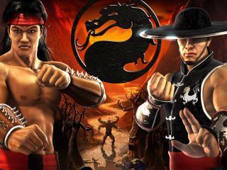 обои для рабочего стола: Mortal Combat шао-линь Монкс