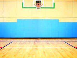 обои Баскетбольная площадка фото