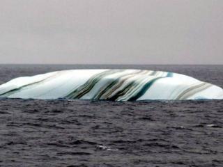 обои Полосатая льдина фото
