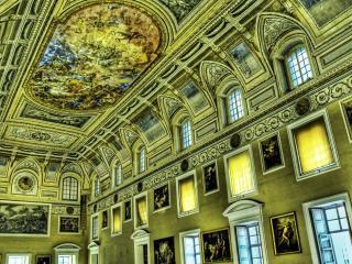обои Величие огромного музея фото