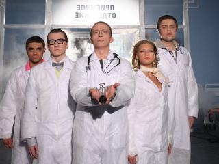 обои Сериал Интерны,   Левин,   Лобанов,   доктор Быков фото