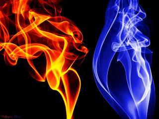 обои Лед и пламень фото