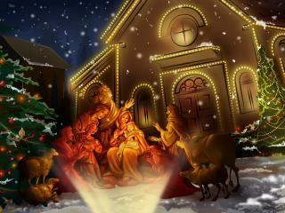 обои Чудо Рождества фото