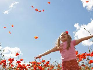 обои Цветок жизни среди цветов фото