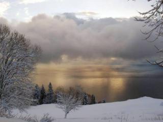 обои Зимнее облачко фото