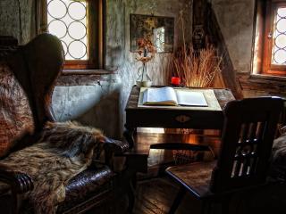 обои Старинный кабинет фото
