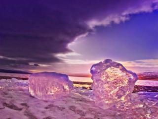 обои Зимние причуды фото