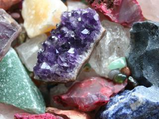обои Камни разного цвета фото