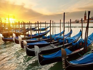 обои Венецианские гондолы фото