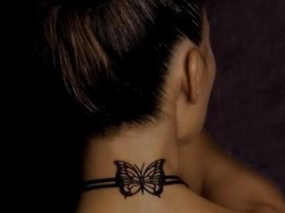 обои Татуировка бабочка фото