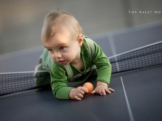 обои Малыш теннисист фото