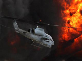 обои AH-1 Супер Кобра