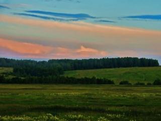 обои Вечернее летнее небо фото