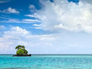обои Морской островок фото