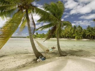 обои Отдых на тропическом берегy фото