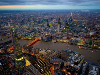 обои Вечерний Лондон фото