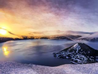 обои Красота потухшего вулкана фото
