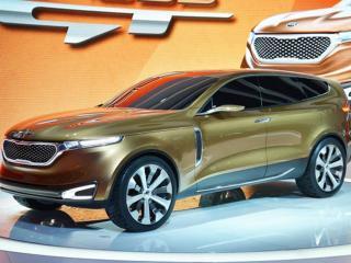 обои Новая модель Kia Cross GT фото