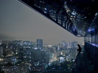 обои взгляд на город с высоты фото